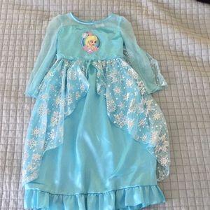 Disney Store Elsa nightgown